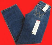 Womens Wrangler Western Shiloh WRS40MO Low Rise Boot Cut Jeans Size 3/4 X28