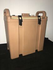 Cambro Tan Insulated Soupbeverage Carrier 350lcd 338 Gallon Capacity 23