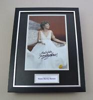 Shirley Bassey Signed Photo Framed 16x12 Music Autograph Memorabilia Display COA