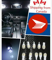 10pcs 20SMD Super White LED T10 921 192 Wedge RV Trailer Interior Car Light Bulb