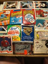 ~5000 Baseball Cards w/5 Sealed packs~ + 3 Autographs Or Relics ~Warehouse Find