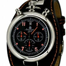 German Aeromatic RETRO Aviator CHRONOGRAPH A1341