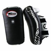 Twins Thaipratzen gebogen TKP 5. 18x38x5cm Thai Pads. 100% Leder. Muay Thai, MMA