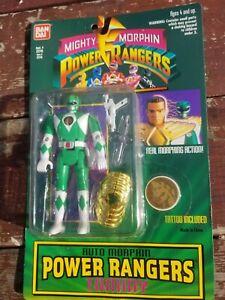 """BAN DAI """"TOMMY"""" GREEN POWER RANGER"""