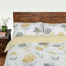 Duvet Cover with Pillow Case Floral Bedding Set Single Double King Super King