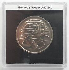 1984 20 CENT BU UNCIRCULATED DECIMAL EX MINT SET COIN