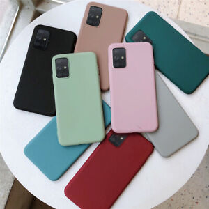 For Samsung Galaxy A51 A71 NEW Shockproof Slim Soft Silicone Phone Case Cover