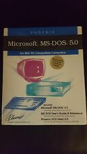 "SEALED NEW IN BOX  PHOENIX MICROSOFT MS-DOS 5.0 5.25"" FLOPPY DISK 5 1/4"" FLOPPY"
