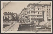 GENOVA RAPALLO 203 HOTEL ROSA BIANCA - ALBERGO Cartolina viagg. 1929 REAL PHOTO