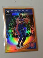 F41715  2018-19 Donruss Optic Orange #150 Andre Drummond Pistons /199
