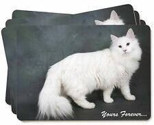 White Cat 'Yours Forever' Picture Placemats in Gift Box, AC-130P