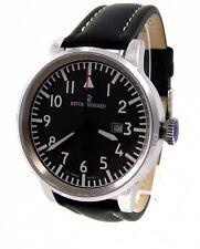 Revue Thommen Herren-armbanduhr XL analog Automatik Leder 16053.2537