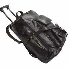 Embassy Leather Backpack Cart