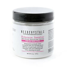 Microdermabrasion Crystals DIY Face Scrub Natural Facial Exfoliator 8 oz