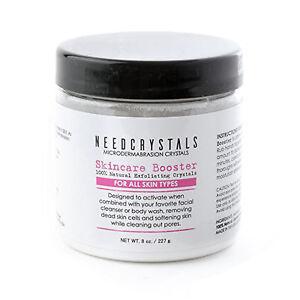NeedCrystals Microdermabrasion Crystals 8 oz. / 227 g. DIY Natural Face Scrub