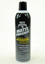 White Lightning Bicycle Matte Finisher Finish Cleaner/Protectant, 19oz