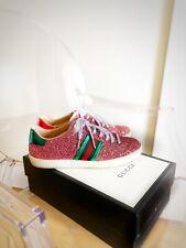 Gucci Ace Sneaker Glitzer TOP ZUSTAND 37,5 Wie 39