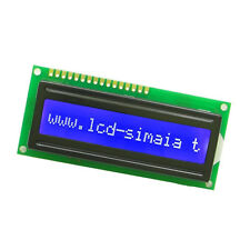 1PCS Blue Blacklight 1601 16x1 Character LCD Display Module For Arduino M