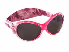 KidsBanz Retro BanZ Wrap Around Sunglasses  100% UV Protection Pink 2-5 Years