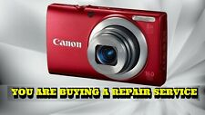 CANON A4000 IS REPAIR SERVICE FOR YOUR DIGITAL CAMERA WITH A 60 DAY WARRANTY