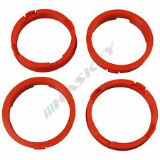 4 Rims Centering Ring 73,1 - 63,4 Rings for Rims Ford Volvo Barracuda Mazda