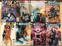 BATMAN & OUTSIDERS lot of (8) issues, as shown (2004-2011) DC Comics FINE