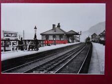 PHOTO  MYTHOLMROYD RAILWAY STATION C1930'S