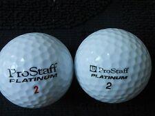 "40  WILSON ""PROSTAFF PLATINUM"". - Golf Balls - ""PEARL/A""  Grades."