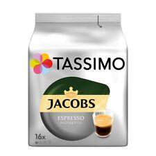 TASSIMO - German - JACOBS ESPRESSO RISTRETTO - 16 t-discs - FREE SHIPPING