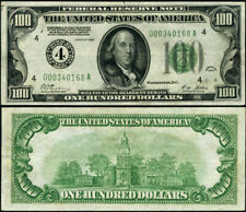 FR. 2150 D $100 1928 Federal Reserve Note Cleveland D-A Block XF