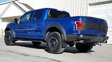 FORD F-150 RAPTOR 2017 MUD FLAPS by ROKBLOKZ All New! BLACK MUD FLAPS