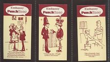 More details for wills embassy punchlines size t near set 282/288 mint