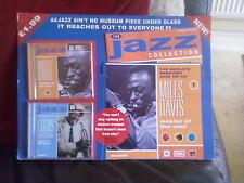 The Jazz Collection 1:Miles Davis 2 CD's-Miles Davis/Louis Armstrong Music