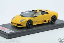1/43 MR Lamborghini LP640 Roadster Versace Metallic Yellow Free Shipping/ BBR