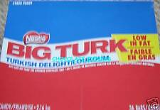 36 NESTLE BIG TURK TURKISH DELIGHT FULL SIZE BARS *FRESH FROM FACTORY*
