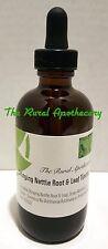 Stinging Nettle Root & Leaf Tincture 4 oz, Allergy, Immunity, Baldness Organic