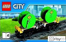 Lego® City Waggon mit Kabelrollen (60052) NEU passend zu 7939 7938 3677