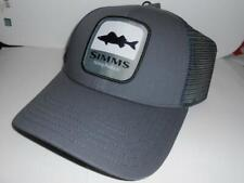 New Licensed Simms Fishing Walleye Mesh Back Adjustable Hat B15