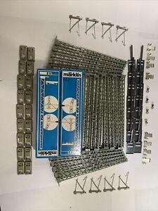 HUGE LOT 20 Märklin 7021 H0 Catenary Tower Masts 2 Boxes Germany 7006 7025