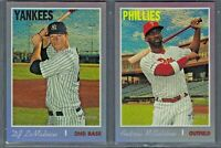 2019 Topps Heritage High Number Hot Box PURPLE REFRACTOR Complete Your Set Pick