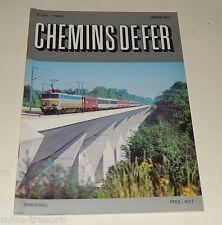 CHEMINS de FER N° 376 de 1986 : TGV Nord-Est Européen – PARIS GRANVILLE…