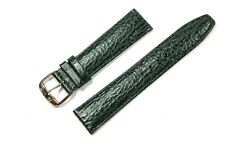Jacques Lemans Spare Band Watch Leather Dark Green 0 25/32in Bridge Width