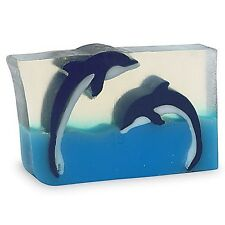 Primal Elements, Dueling Dolphins - 7.0 oz+ not 6.0 Handmade Glycerin Soap