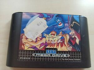 SEGA Mega Drive Spiel Aladin guter Zustand