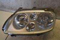 VW Touran Headlight Left Side Touran 5 Door MPV Passenger N/S Head Light 2006