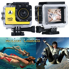 Action Camera Camcorder 1080P Full HD DV Sport Recorder Car Camera Waterproof UK