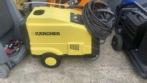 Karcher Hds 557ci Pressure Washer Steam Cleaner Jet Wash 240v Hot Cold Water