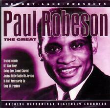 PAUL ROBESON - THE GREAT (NEW SEALED CD) OL' MAN RIVER, SWING LOW, SWEET CHARIOT