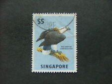 Singapore 1962 $5 multicoloured SG77 GU