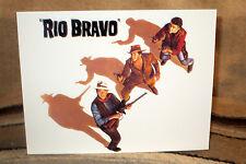 """John Wayne """"Rio Bravo"""" Western Tabletop Display Movie Poster Standee 11"""" Long"""